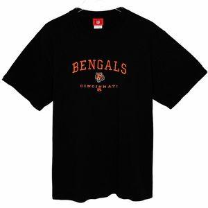 NFL CINCINNATI BENGALS Football T-shirt black
